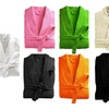 Luxury Unisex Spa Cotton BathRobe Terry Towel Kimono Robe Women & Men