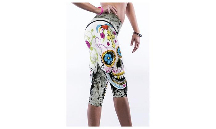 Women's Sexy Skull Digital Pri...