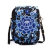 Ethnic Vintage Flowers Embroidery Shoulder Hand Bag for Women