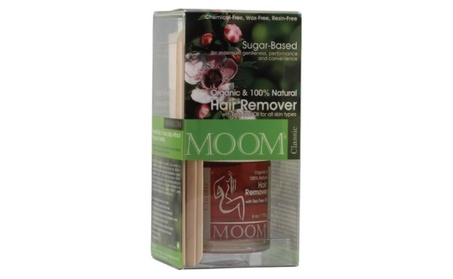 Moom Organic Hair Removal Kit, Tea Tree, 6-Ounce Package ef83dffc-44ab-4559-95e3-9e0bfc42a229