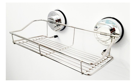 Genexice Stainless Steel Shower Caddy with Power Gel Suction Cups 22ec84c6-3236-4eb7-b253-a7315be87ea5