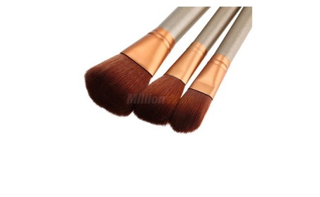 New 7Pcs Makeup Pro Brush Set Wood Handles Flawless 0b3849de-52be-4639-8460-06963ffd95e9