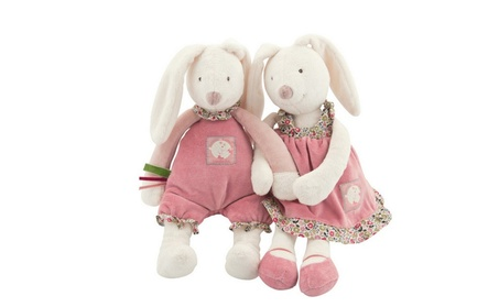 Baby Play Soft Plush Toys High Quality Lovely Rabbit Appease Doll Baby 9a9da30e-90d1-4707-9cdf-df2349b14a68