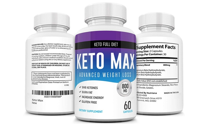 Up To 83 Off On Best Keto Max Diet Pill Ketog Groupon Goods