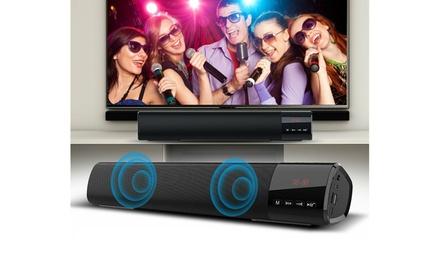 Pro Wireless Bluetooth Sound Bar Speaker Super Bass Stereo Home TV Subwoofer