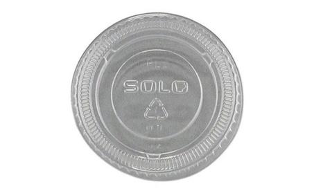 SOLO Cup Company No-Slot Plastic Cup Lids d6a51c0a-340d-48c8-aea8-3826b0563fef