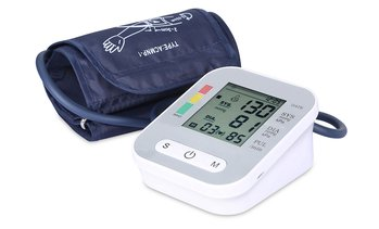 iMounTEK Blood Pressure Monitor with Digital  LCD Display & Voice Broadcast