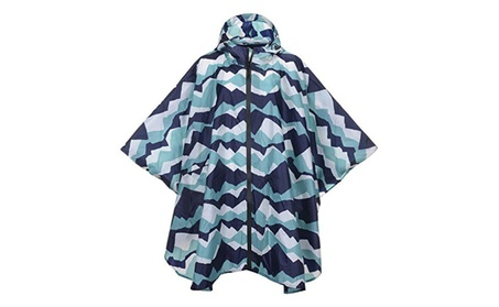QZUnique Lightweight Outdoor Ripstop Waterproof Rain Jacket Raincoat 73d42378-c9ae-44e5-834b-024c84b2d4b9