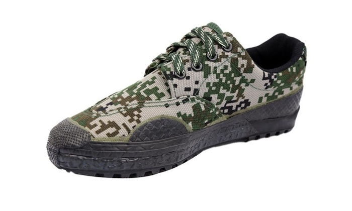 Men's Canvas Sneaker Chinese Army Shoes Liberation