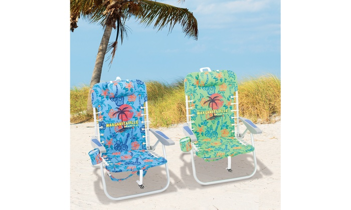 Marvelous Margaritaville Lace Up Backpack Beach Chair Groupon Gmtry Best Dining Table And Chair Ideas Images Gmtryco