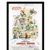 Animal House - Signed Movie Poster in Wood Frame