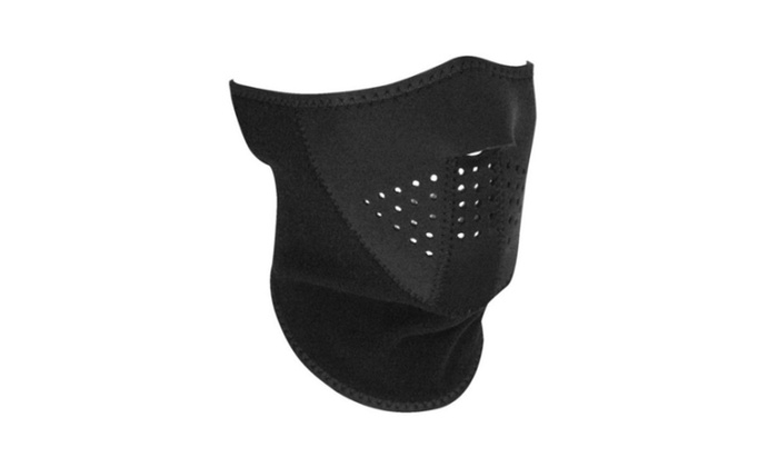 Zan Headgear 3 Panel Half Mask & Fleece Neck Headwear