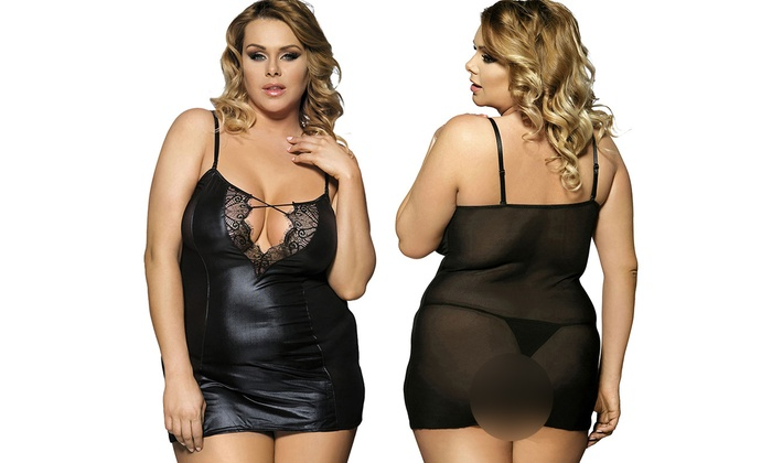 7d4bba60c037d Eli S. Women's Sexy Lingerie Chemises Babydoll Nightwear Dresses