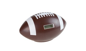 Football Coin Counting and Saving Piggy Bank with Digital Counter for Kids