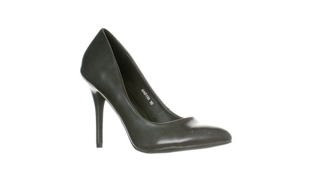 Riverberry Women's Gaby Pointed Closed Toe Stiletto Pump Heels 9d4e52ed-7eba-47cb-8cef-d784b2b52362