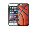 Insten Basketball Hard Tpu Case For Iphone 6 Plus 6s Plus Brown Black