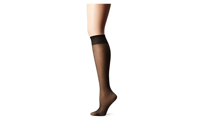 72f3f928e36 Up To 42% Off on Leggs Jet Black Everyday Knee...