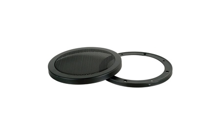 Steel Mesh 2 Piece Grill for 6 1/2 Speaker Black Sold Individually 249190ee-223b-46ce-bb87-554a522af176