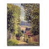 Alfred Sisley A Road to Louveciennes 1883 Canvas Print