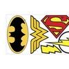 Roommates Decor DC Superhero Logos Giant Wall Decals