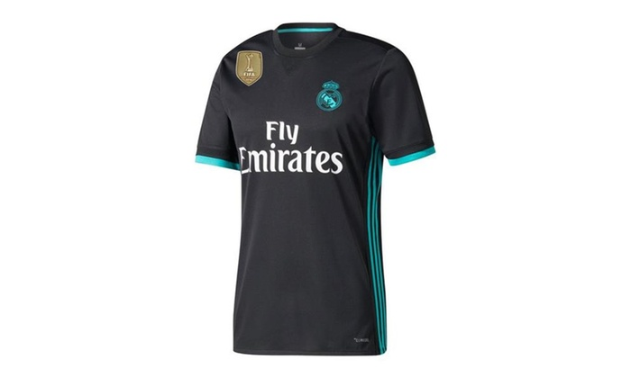 online store d0ca8 57ed1 Real Madrid Away Jersey 2017 / 2018 + FREE Club World Cup Champions Patch