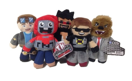 Tube Heroes Plush Stuffed Toy Cartoon Action Figure Doll Birthday Gift 0b1a7b38-a281-4c60-8135-9ba7bc568aba