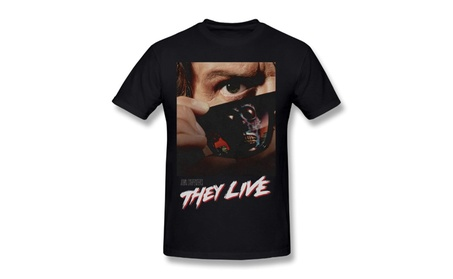 DSGAW They Live Science Fiction Horror Satire Movie Poster