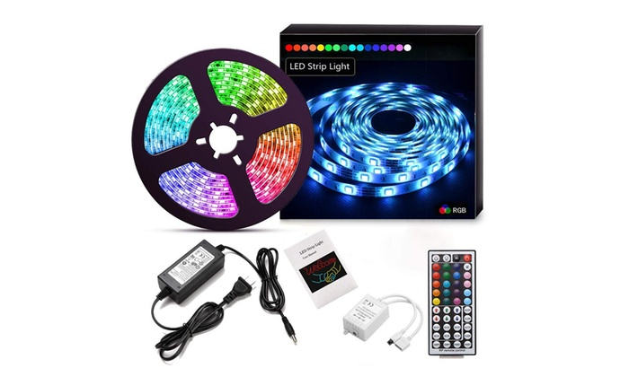 Led Strip Lights 16 4ft 5m Flexible Color Changing Light Kit