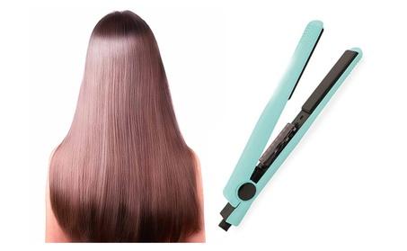 Green Ceramic Straightener Hair Care Iron