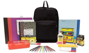 Prefilled Elementary 15 inch Backpack with Supplies