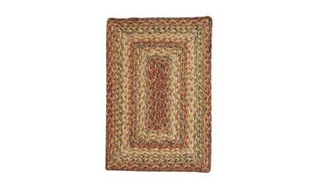 "Homespice Decor Harvest Jute Braided Placemat 13"" x 19"" Rectangle 12fa23a8-e14d-4172-a2f9-a9fe22b4641f"