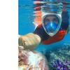 GoPro Compatible FreeBreather Full-Face Snorkel Mask-1 Piece