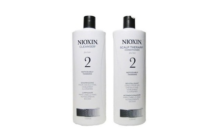 Nioxin System 2 Cleanser & Scalp Therapy Shampoo & Conditioner e7f20920-7a97-4b54-bc57-8637674ce4cc