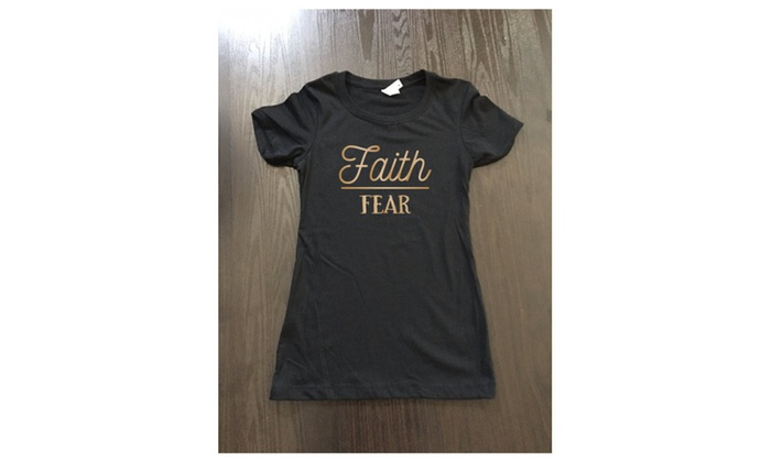 Faith Over Fear Women's Tee