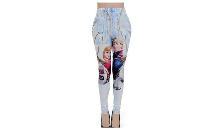 Women's Simple Pull On Style Skinny Casual Ninth Leggings – As Picture / One Size