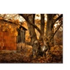Lois Bryan 'Autumn on the Farm' Canvas Art