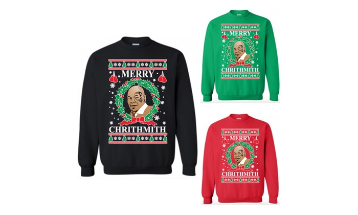 merry chrithmith mike tyson ugly christmas sweater sweatshirt
