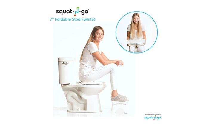 Squat N Go Squat N Go 7u201d Folding Squatting StoolFoldable Toilet Stool ...  sc 1 st  Groupon & Squat N Go 7u201d Folding Squatting StoolFoldable Toilet Stool | Groupon islam-shia.org
