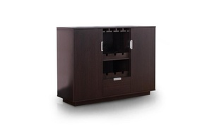 Furniture of America Lionell Buffet, Espresso