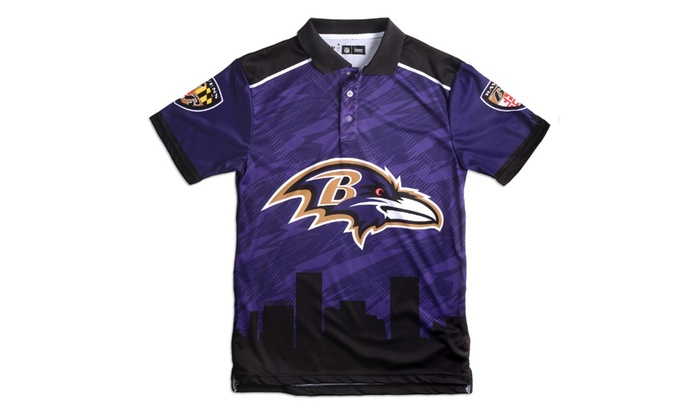 Forever Collectibles - NFL Thematic Themed Polo Shirt  d772fd260