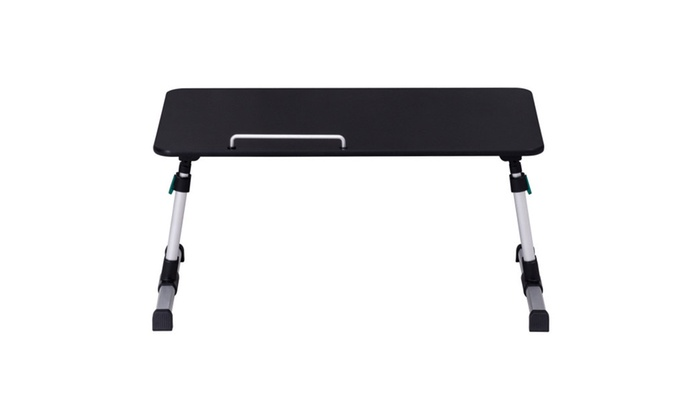 ... Portable Height Adjustable Laptop Bed Tray Table Standing Tray ...