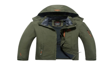 Waterproof Windproof Jacket Thin Section Men Warm Coat Jacket ddf061a6-9b95-4e9a-9ed2-ac9d53b48b4c