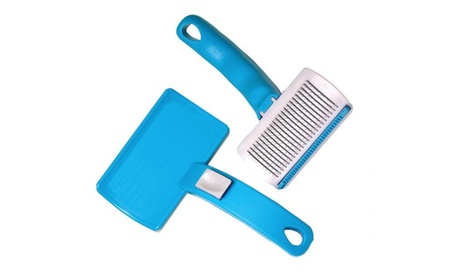 Tell Sell Premium Animal Heaven Ionic 3 In 1 Pet Grooming Brush f3e96230-a664-4c2a-b166-f9cdfe8aa19b