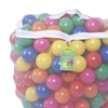 Click N' Play Value Pack of 200 Pit Balls - Durable Storage Mesh Bag with Zipper
