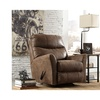 Signature Design by Ashley Tullos Rocker Recliner in Faux Leather
