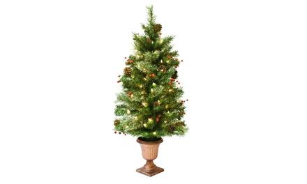 Astella 3 5 39 Artificial Christmas Tree W Snow Tip 50 Ul