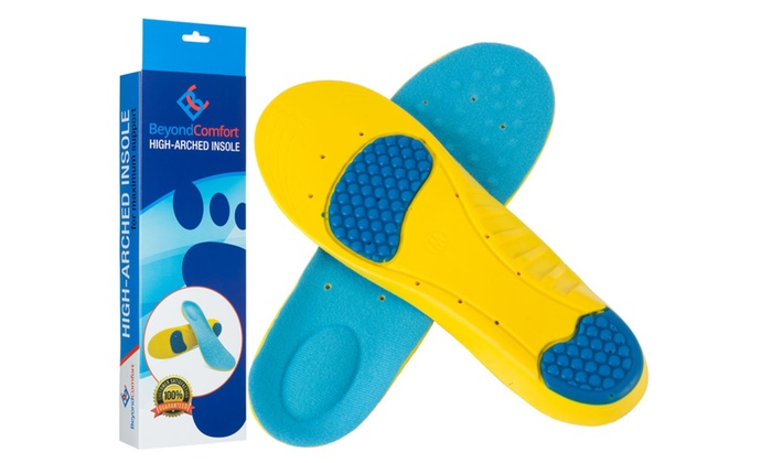Full Length Premium Orthotic Shoe Insoles by BeyondComfort