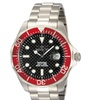 Invicta Pro Diver Men's Carbon Fiber Dial Stainless Steel Watch