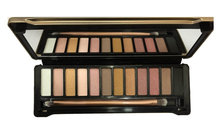 Let's Go Tax FREE: Premium Quality 12 Colors Classic Earthtone Eyeshadow Palette