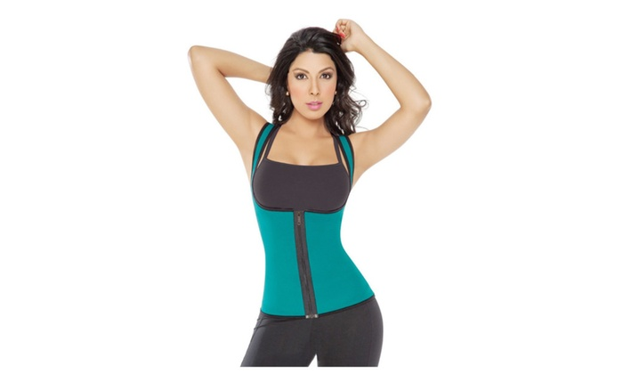 9a12c384e04fb Thermo Neoprene Gym Waist Trainer Shirt Ultra Sweat Body Shaper ...
